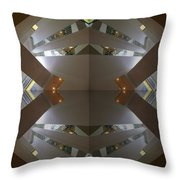 S F N M Architecture 4 Throw Pillow