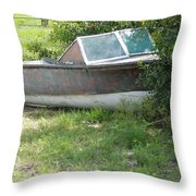 S S Minnow Throw Pillow