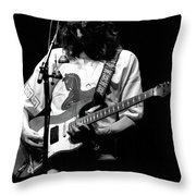 S#37 Enhanced Bw Throw Pillow