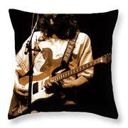 S#37 Enhanced In Amber Throw Pillow