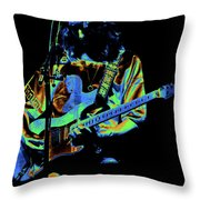 S#37 Enhanced In Cosmicolors Throw Pillow
