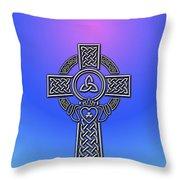 S6 Phone Celtic Cross Throw Pillow