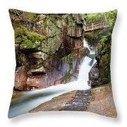 Sabbaday Falls Throw Pillow