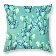 Sabers Tropical  Throw Pillow