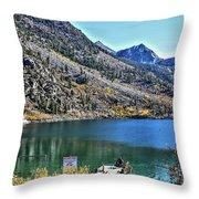 Sabrina Lake California Throw Pillow