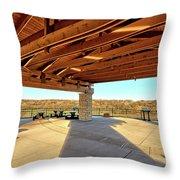 Sac And Fox Wildlife Area Throw Pillow