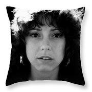Sac City College Woman Throw Pillow