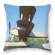 Sacadura Cabral And Gago Coutinho Monument Throw Pillow