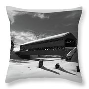 Sach's Covered Bridge Throw Pillow