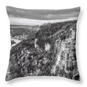 Sachsische Schweiz Throw Pillow