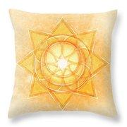Sacral Chakra Series Two Throw Pillow