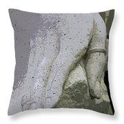 Sacramento Hand Throw Pillow