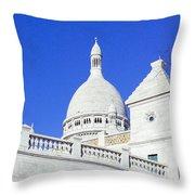 Sacre Coeur Closeup Throw Pillow