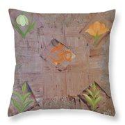 Sacred Aum Throw Pillow