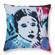 Sacred-beads Meditation Throw Pillow