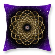 Sacred Geometry 473 Throw Pillow