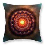 Sacred Geometry 586 Throw Pillow