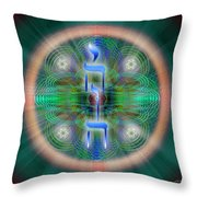 Sacred Geometry 648 Throw Pillow