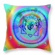 Sacred Healing Rays Of Cho Ku Rei Throw Pillow