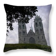Sacred Heart Cathedral Newark New Jersey Throw Pillow