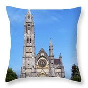 Sacred Heart Church Roscommon Ireland Throw Pillow