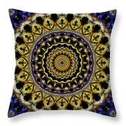 Sacred Mandala Throw Pillow