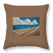 Sacred Night Throw Pillow