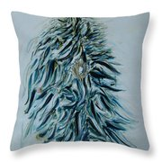 Sacred Plant Throw Pillow