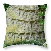 Sacred Stone Throw Pillow