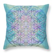 Sacred Symbols Out Of The Void 4b Throw Pillow