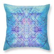 Sacred Symbols Out Of The Void A3c Throw Pillow
