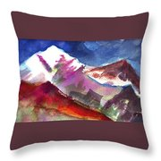 Sacredness Throw Pillow