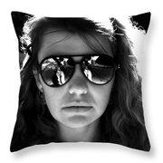 Sacto Woman Throw Pillow