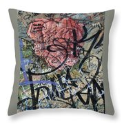 Sad Rose ... Throw Pillow