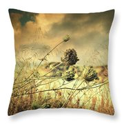 Sad Song Of The Wind Throw Pillow