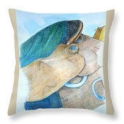 Saddle Back Throw Pillow