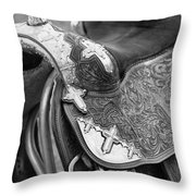 Saddle Throw Pillow