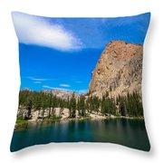 Saddleback Lake Throw Pillow