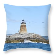 Saddleback Ledge Light Throw Pillow