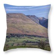 Saddleback Mountain Throw Pillow