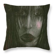 Sadly Me Throw Pillow