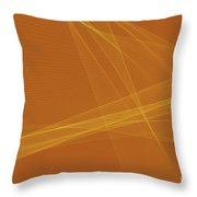 Safari Computer Graphic Line Pattern Throw Pillow