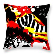 Safari Dreams Throw Pillow