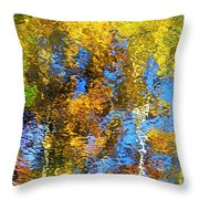 Safari Mosaic Abstract Art Throw Pillow