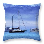 Safe Harbor Throw Pillow