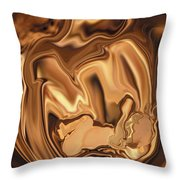 Safe-in-her-arms Throw Pillow