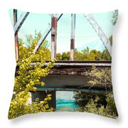 Safe Travels Throw Pillow