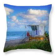 Safe Waters Throw Pillow