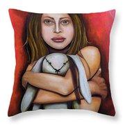 Safekeeping Throw Pillow