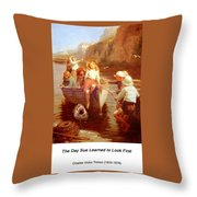 Safely Home Throw Pillow